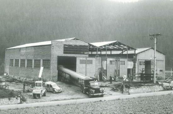 La empresa en 1962